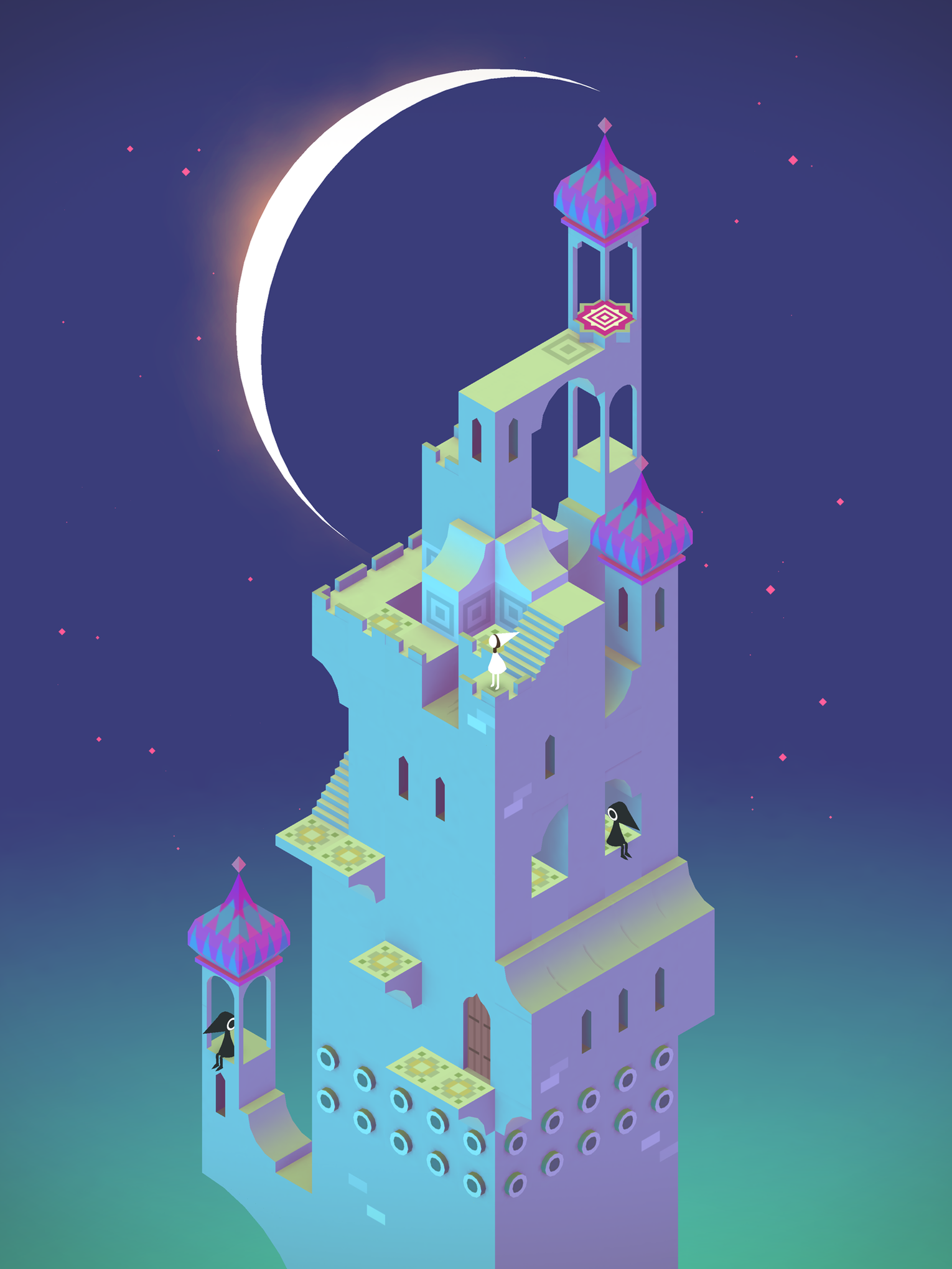 Explore The Impossible Architecture Of Monument Valley The Verge - Game architecture and design
