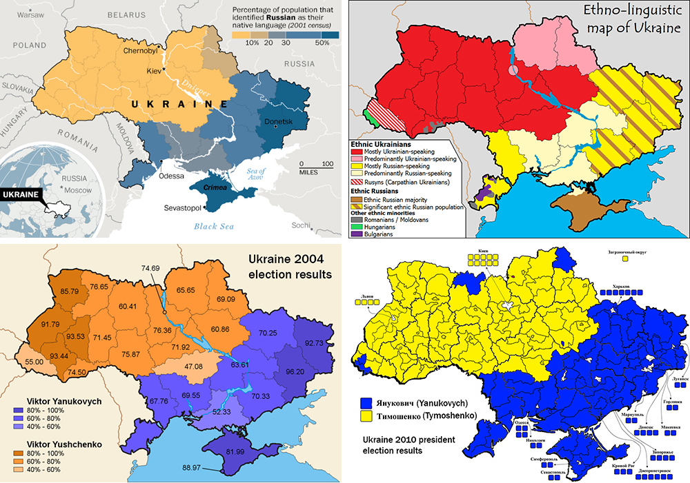 I hear that ukraine is divided between east and west can you ukraine map composite gumiabroncs Choice Image