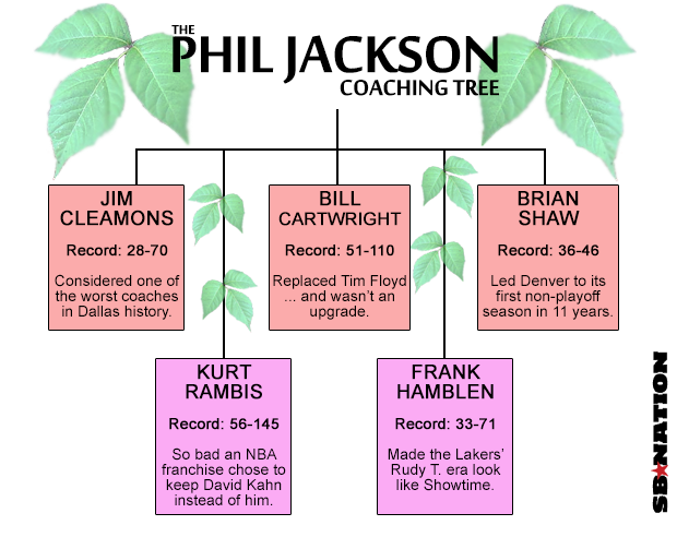 The Phil Jackson Coaching Tree is every bit as tragic as you'd imagined - SBNation.com