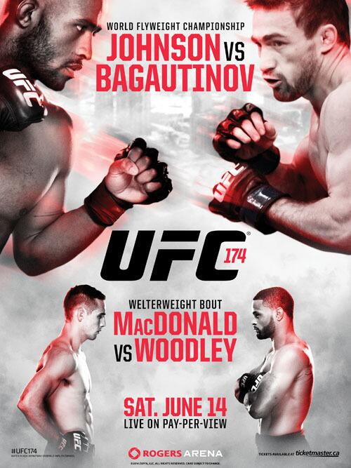 UFC 174 will feature t...