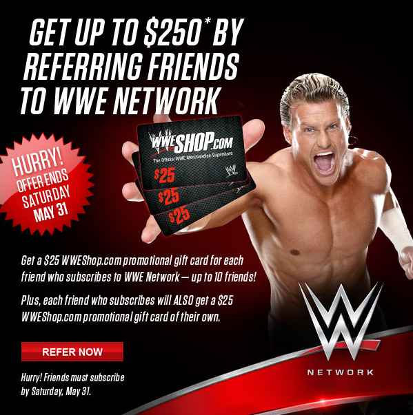 WWE announces Network referral program - Cageside Seats