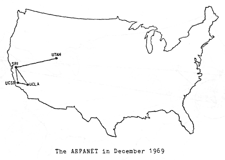 Before the internet, there was the ARPANET