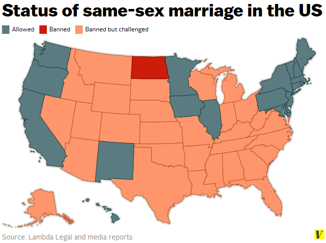 A complete victory for marriage equality could be a year away Vox