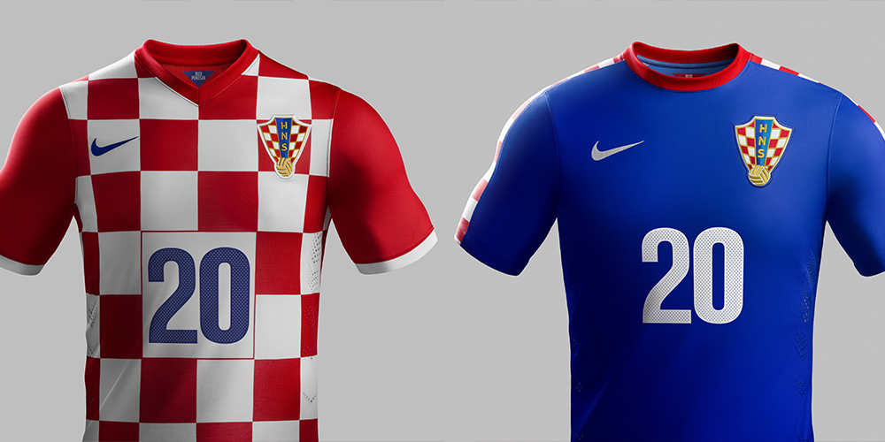 1a069a7a8 It is difficult to make Croatia s red-and-white checkerboard motif look  bad. Nike s home kit for the country lets the nation s style speak for  itself.