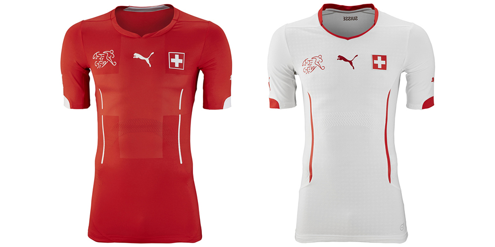 19switzerland medium. Switzerland s home kits from Puma are uninteresting  at best. The red home shirt ... 1e87e3b52