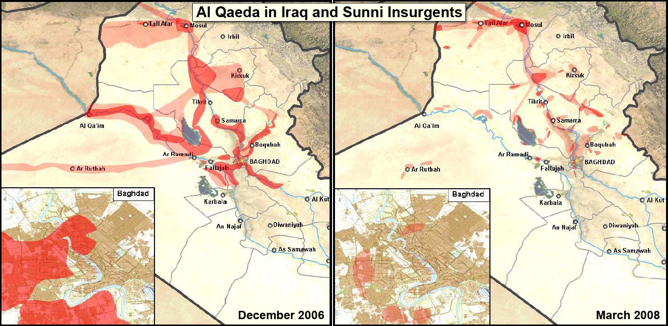 The rise and fall of the Sunni insurgency, 2006-2008