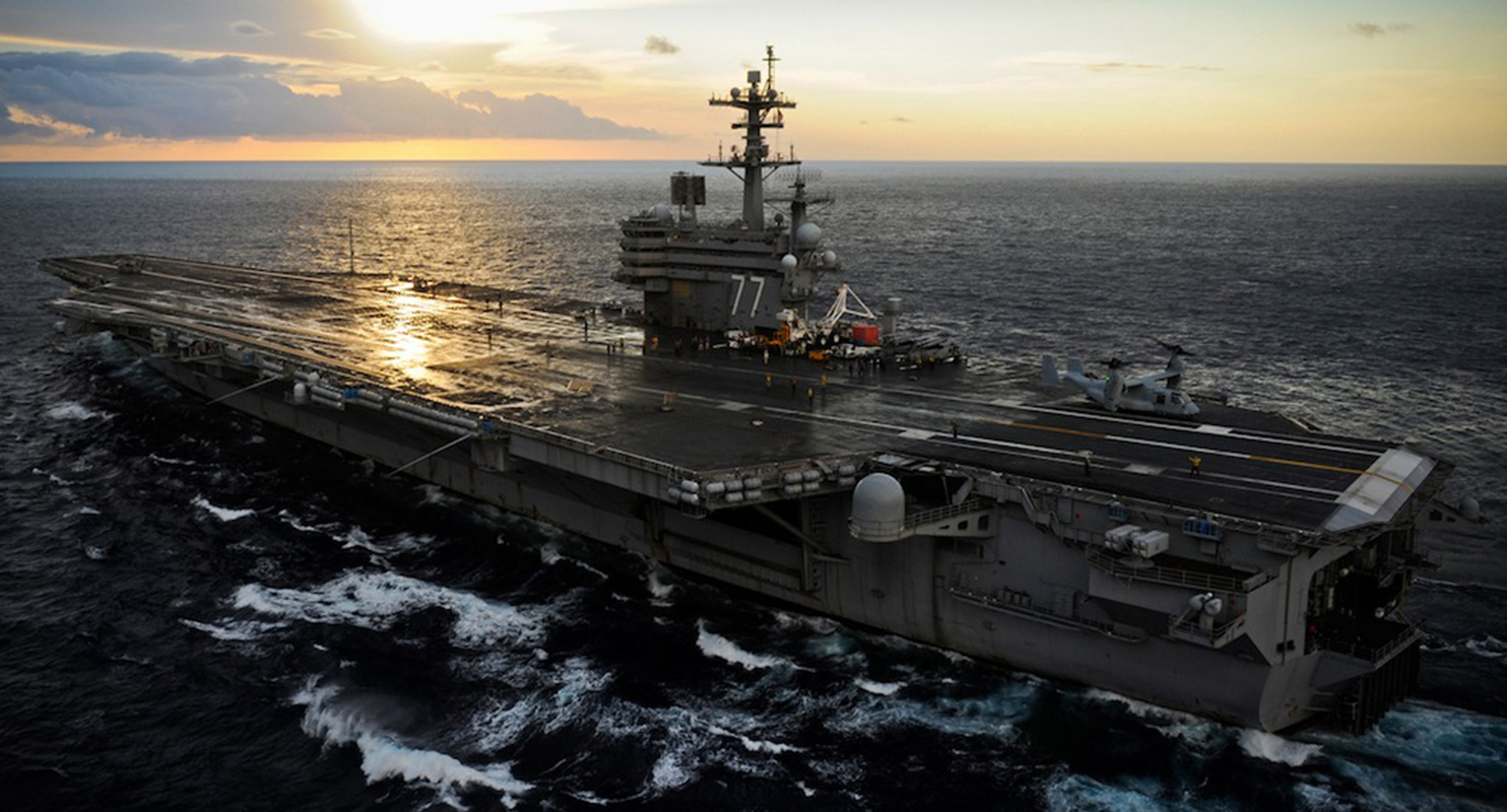 Uss-george-hw-bush-aircraft-carrier