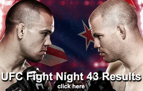 UFC Fight Night 43 Results