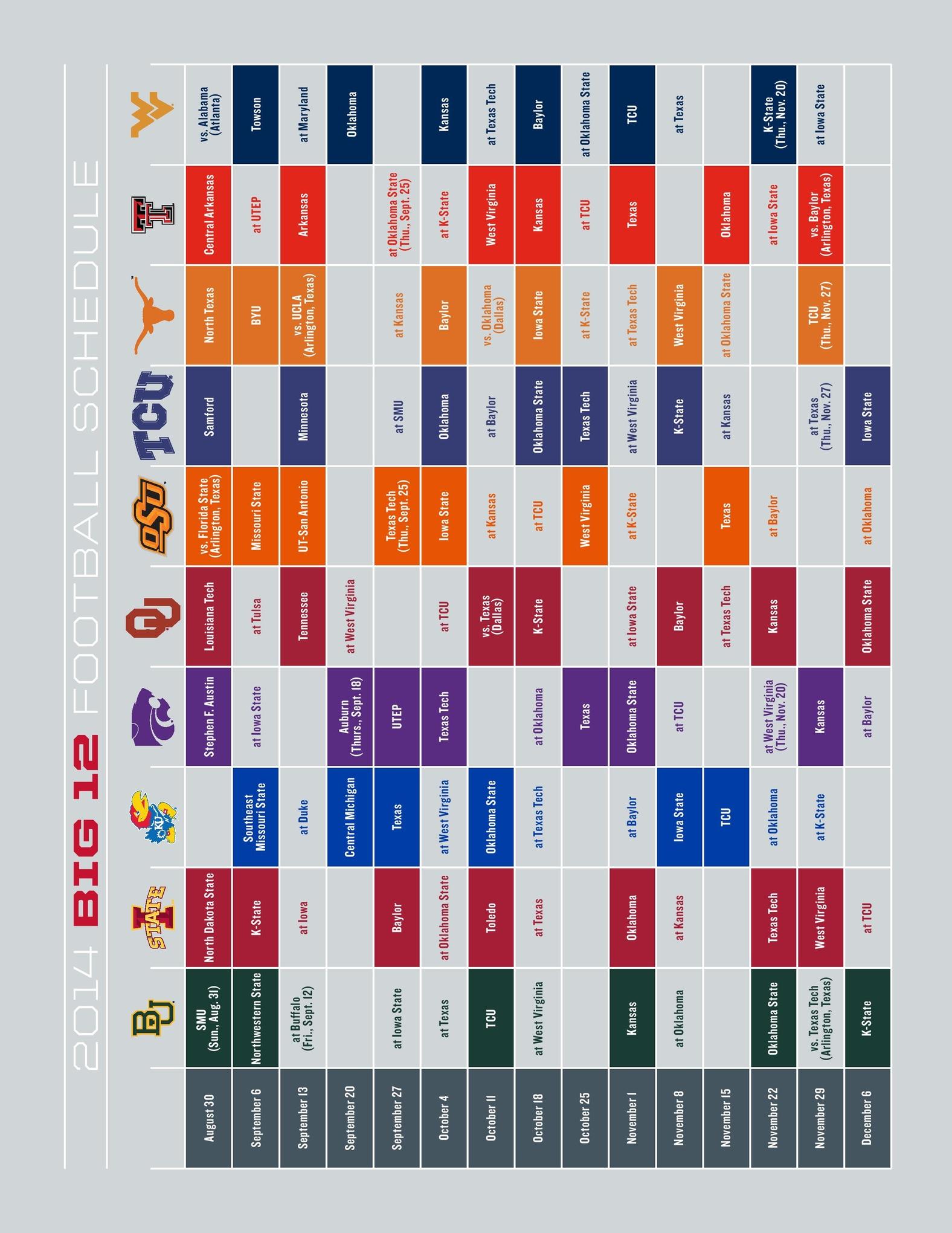 tcu football schedule 2015 meet the players minecraft