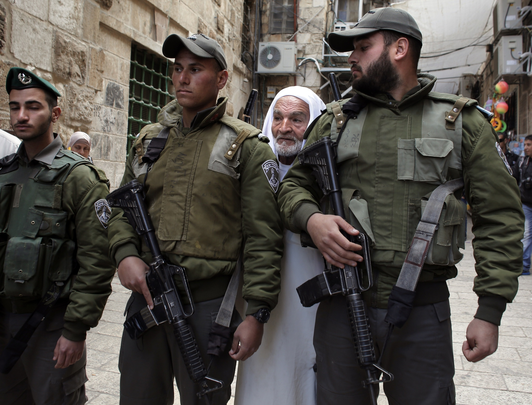 Mosque Aqsa Surrounded Al-aqsa Mosque Compound on