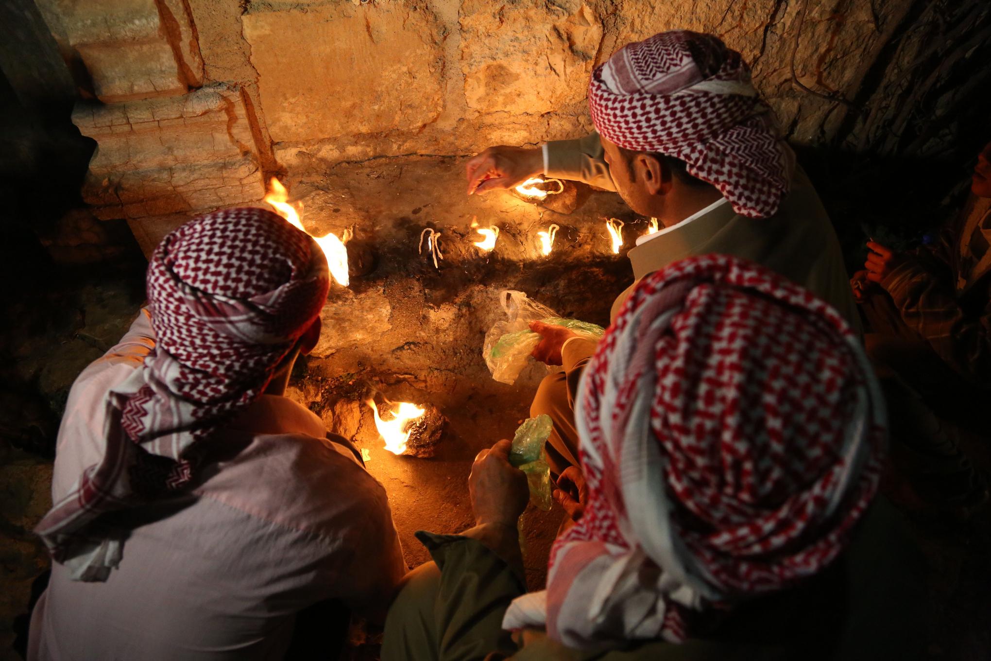 Yazidi New Year's celebration Iraq
