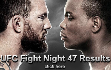 UFC Fight Night 47 Results