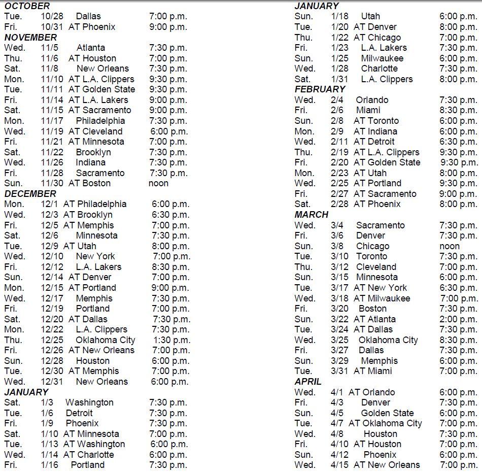 Spurs-schedule-2014-15