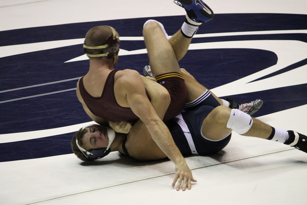 David Taylor wrestled his way to the Outstanding Wrestling award in
