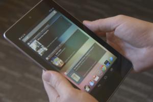Nexus 7 thumb