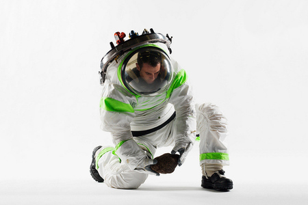 z-1 spacesuit prototype (nasa)