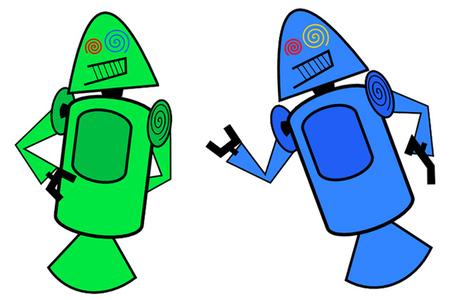 Danroid mascot (Dan Morrill)