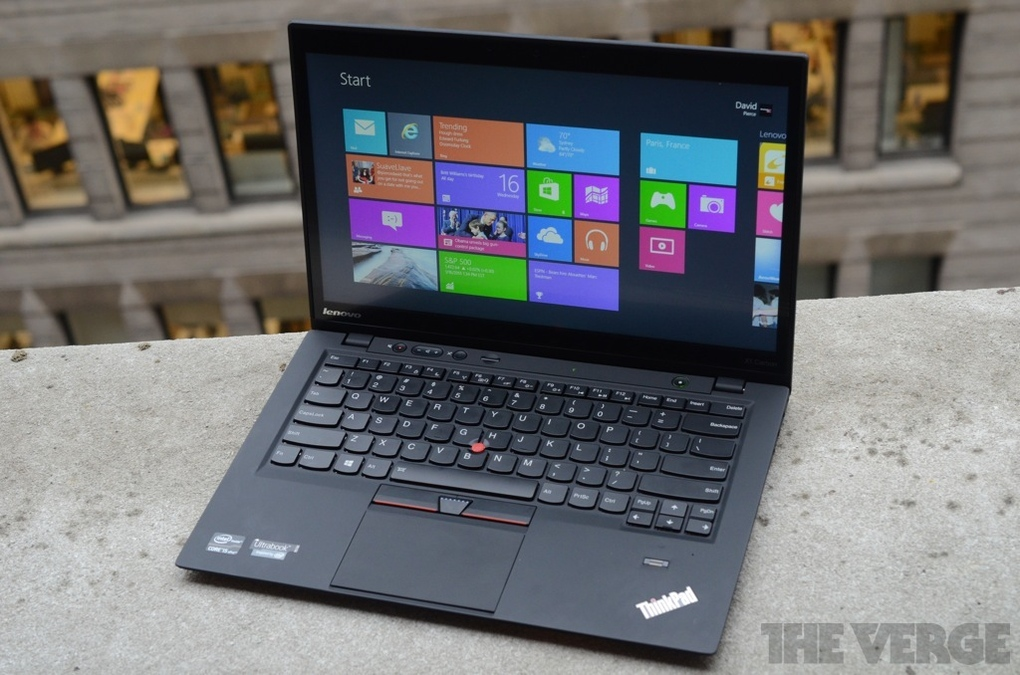 Lenovo ThinkPad X1 Carbon Touch review | The Verge