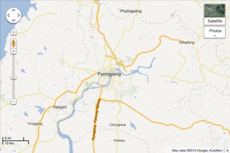 pyongyang google maps