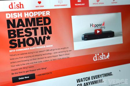 Dish Hopper CES Award (STOCK)