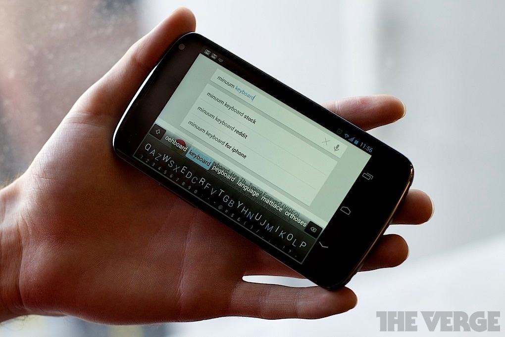 Minuum is a touchscreen keyboard that wants you to make ...