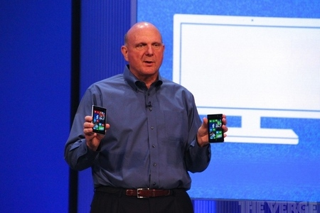 Microsoft CEO Steve Ballmer stock 1020
