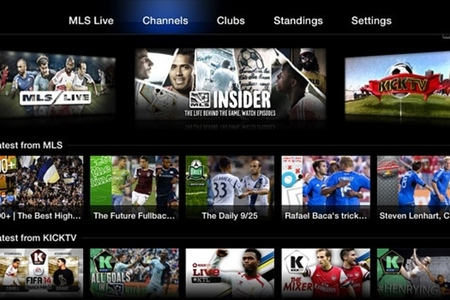 Major League Soccer Apple TV