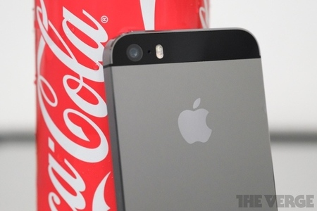 iphone and coke
