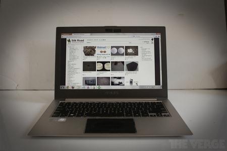Silk Road laptop
