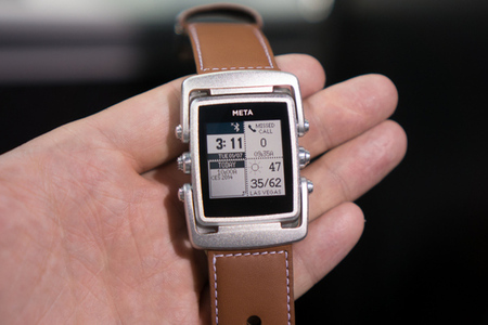 Gallery Photo: MetaWatch Meta hands-on photos