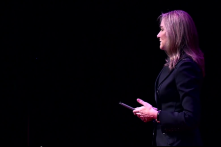 Angela Ahrendts (Credit: TEDx/YouTube)
