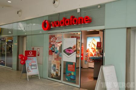 Vodafone Germany store (STOCK)