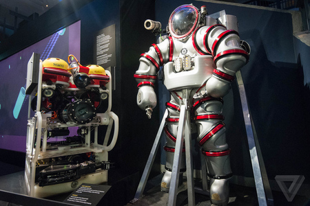 Exosuit Deep Diving Suit