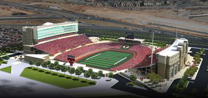 Stadium-expansion