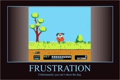 Frustration-full
