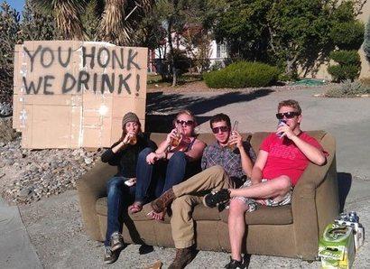 Drinkhonk