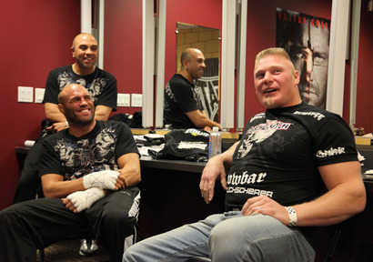 Lesnar-couture-talk