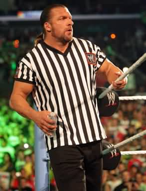 Triple-h-as-a-referee