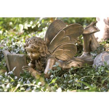 Reading Garden Fairy statue