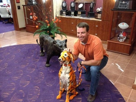 Dabo-and-clemson-dog_zpsdc4aa99f_medium