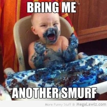 Funny-bring-me-a-smurf-baby-pictures