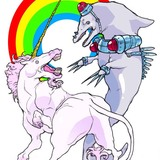 Unicorn_vs__dolphin_by_basehead