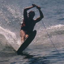 Me_waterskiing