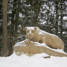 Penn-state-campus-nittany-lion-shrine-the-lion-statue-in-winter-ps-cp-nls-00015lg