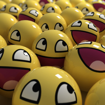 Funny-yellow-happy-faces