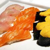 Kampachi-salmon-uni