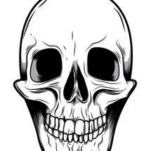 Smiley-skull