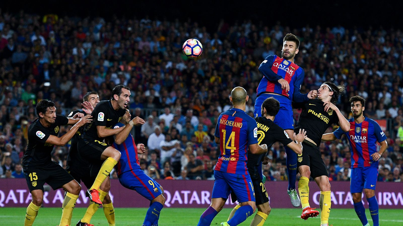 Atletico Madrid Barcelona Copa Del Rey Semi