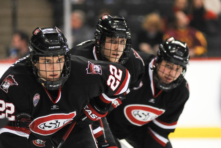 NCHC: St. Cloud State Wins 3-2, Sweeps Miami