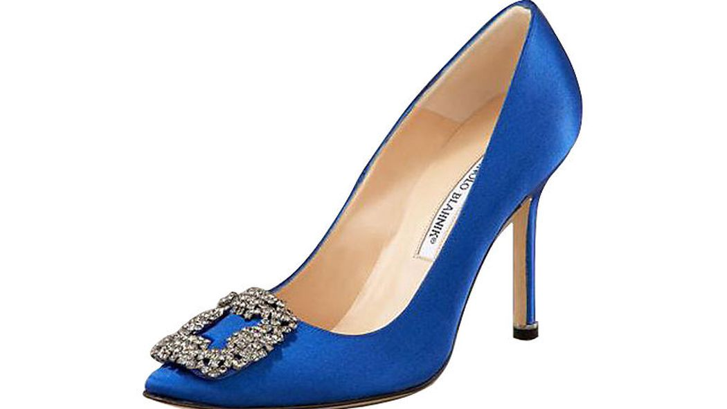 Sex and the city carrie s blue shoes